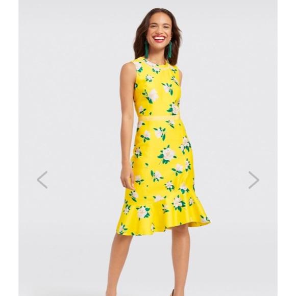 084ae6b9a65 Draper James Dresses   Skirts - Draper James Magnolia Print Tulip Hem Dress